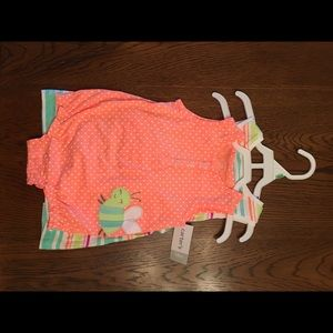 NWT: Two Carters Outfits- Jumpsuit & Romper